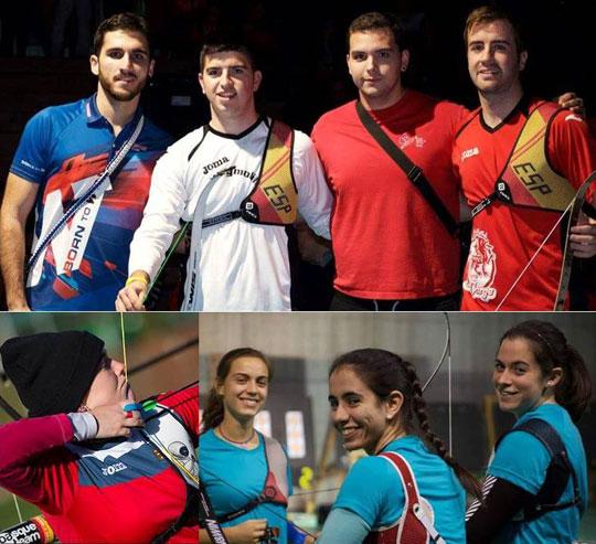 Equipos olimpicos RFETA